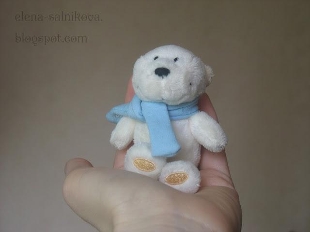 Мишутка с ладошку :)