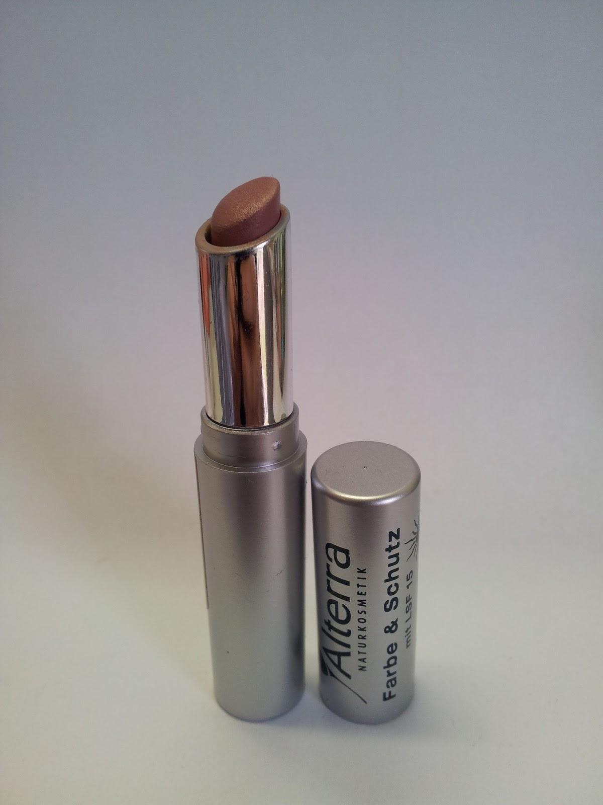 Alterra Lippenstift Farbe&Schutz 05 nude