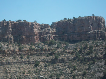 Salt River Canyon scenery