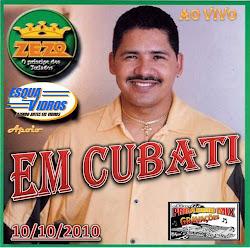 Zezo ao Vivo em Cubati-10/10/2010