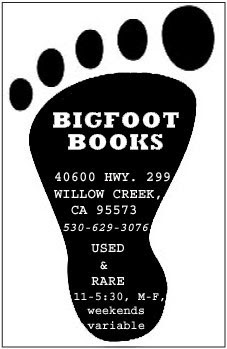 Visit Bigfoot Books in Town or Online