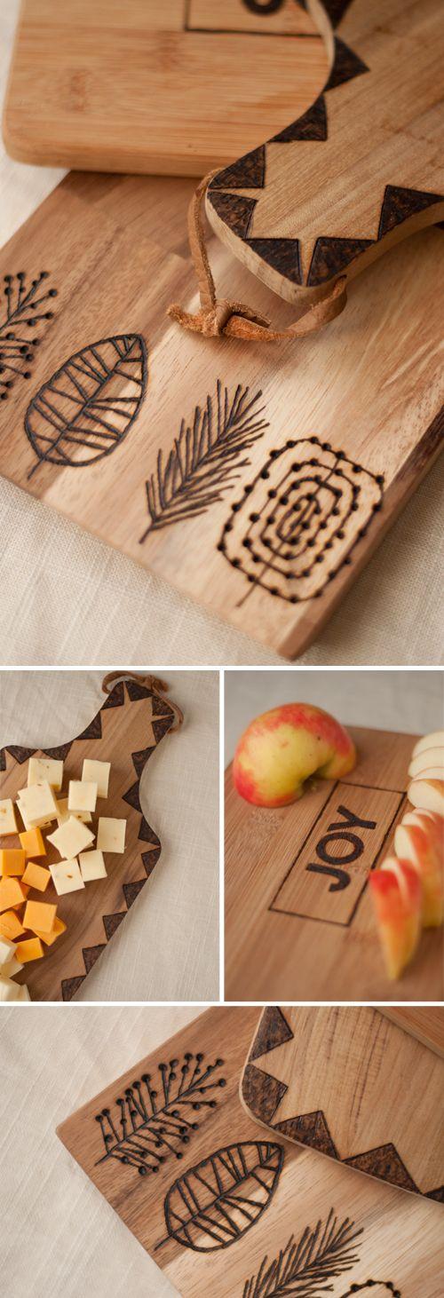 Tábuas reutilize madeira decorando