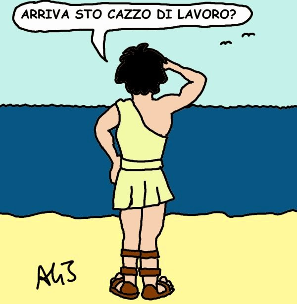 vignetta Renzi, Telemaco, UE