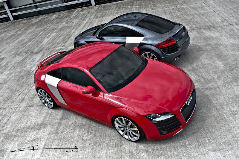 2011 A. Kahn Design's Audi TT GT Coupe