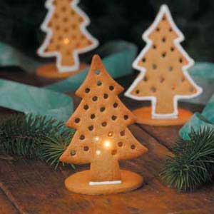 Gingerbread Cookie Candle Holder From Taste Of Home