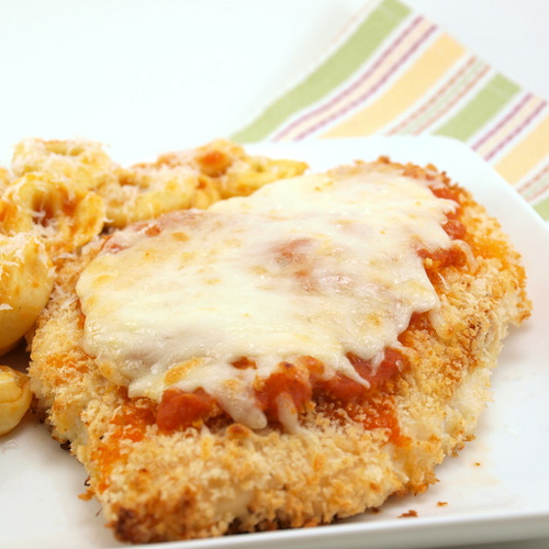 The Jasch Journal: {Tasty Tuesday: Easy Baked Chicken Parmesan}