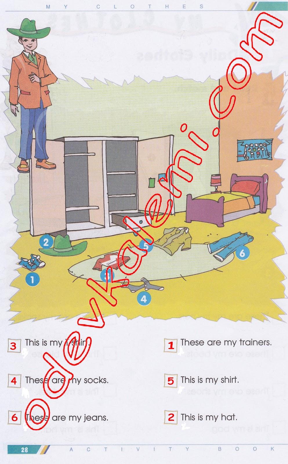 Sınıf ingilizce dersi doku yayınları çalışma kitabı