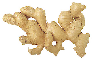 a piece of ginger root