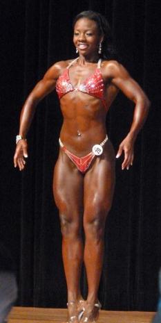 Carribbean Vibe WBFF stage bikini