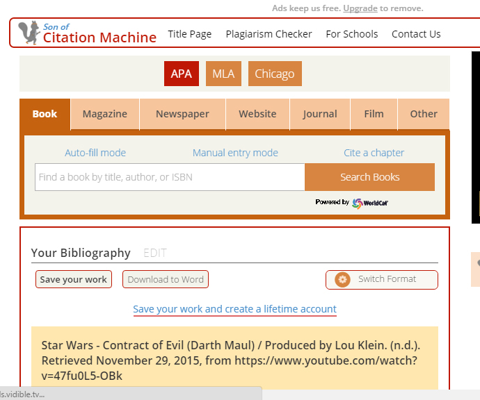 """annotated bibliography maker online What is an annotated bibliography what is a bibliography often called a """"works cited list"""" or """"reference list,"""" it's a list, usually found at the end of your project, that displays all of the sources that you used in your research project."""