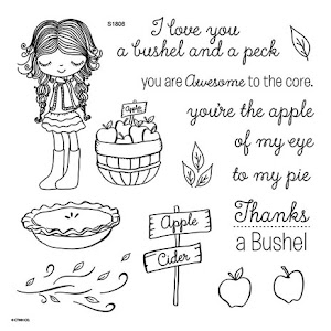 June Stamp of the Month: A Bushel & a peck