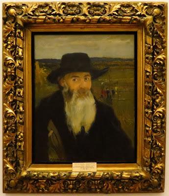 Александр Мурашко, Старый учитель. Портрет Никлая Ивановича Мурашко, 1906