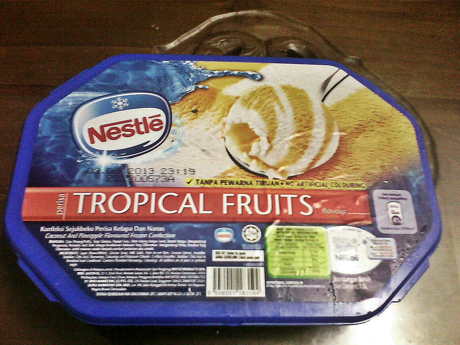 Packaged Food I Have Tried 2012 Nestle Koko Krunch 330 Gram Tropical Fruits Ice Cream