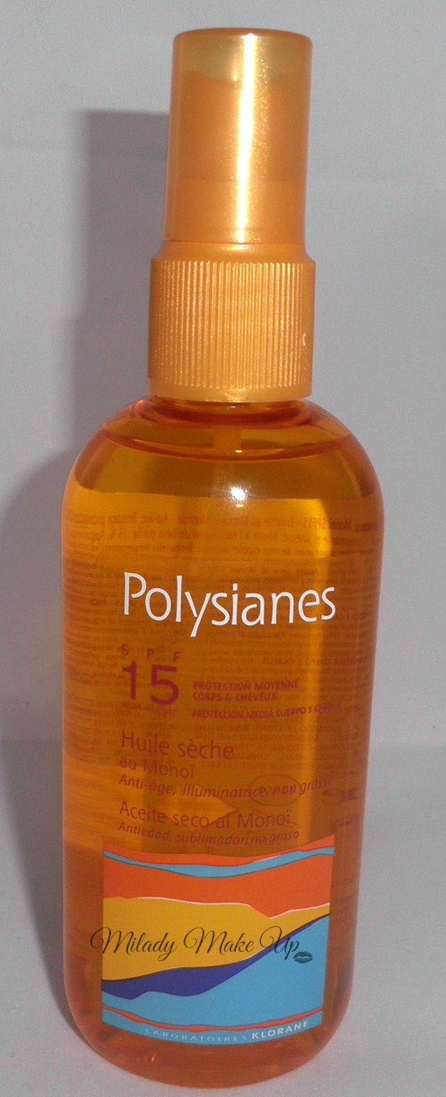 Aceite Polysianes