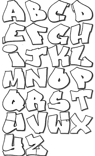 alphabet graffiti zum ausdrucken talimba images graffiti alphabet zum ...