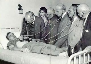 Ausculta Pulmonar. Você está ouvindo bem ?