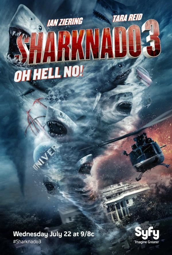 Sharknado 3: Oh Não – Dublado (2015)