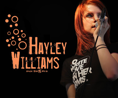 American Singer Hayley Williams Wallpaper