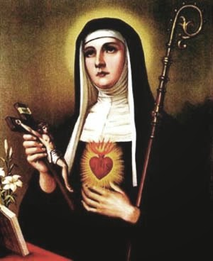 St. Gertrude the Great ~ Pray For Us!