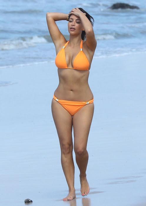 kim kardashian bikini huge __