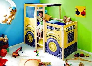 Camas infantis funcionais e lúdicas