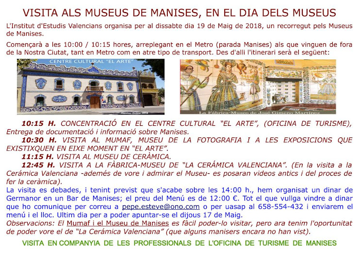 AM 01, DIA 19, DIA DELS MUSEUS