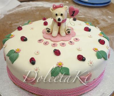 torta con cagnolina