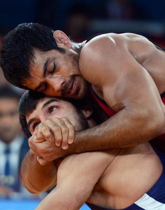 Wrestling Sushil Kumar