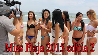 Miss Plaja 2015 editia 2