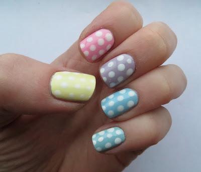 17 pastel dotticure nail art