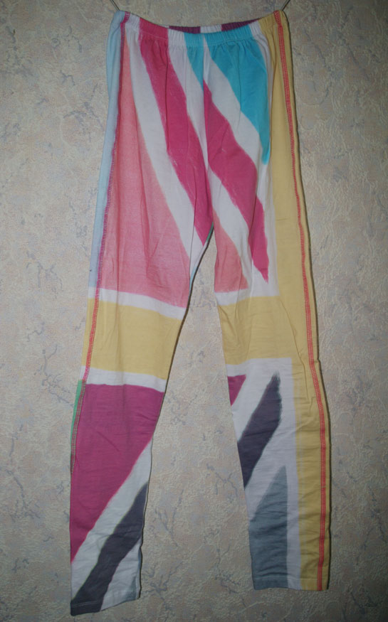 Motel Printed Legging in Pastel Union Jack Print, leggings, union jack clothing
