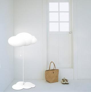 lampe nuage blanc enfant design tendance