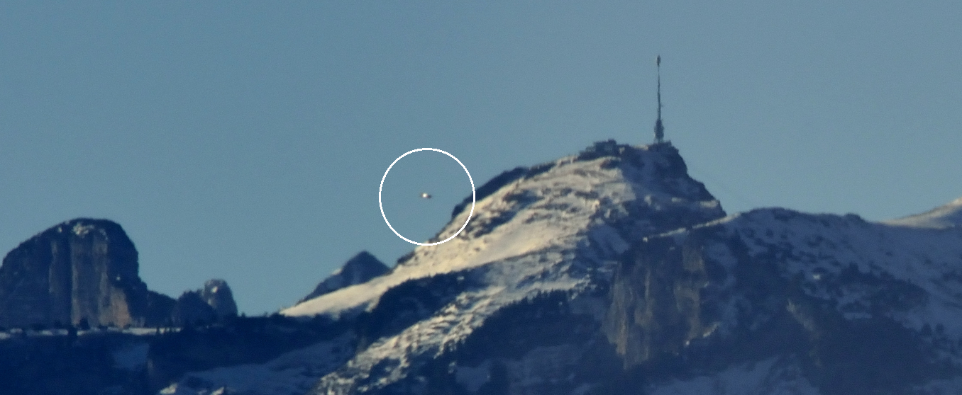 UFO News, Daytime UFO Sighting Photo