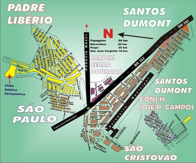 Santos Dumont e Padre Libério