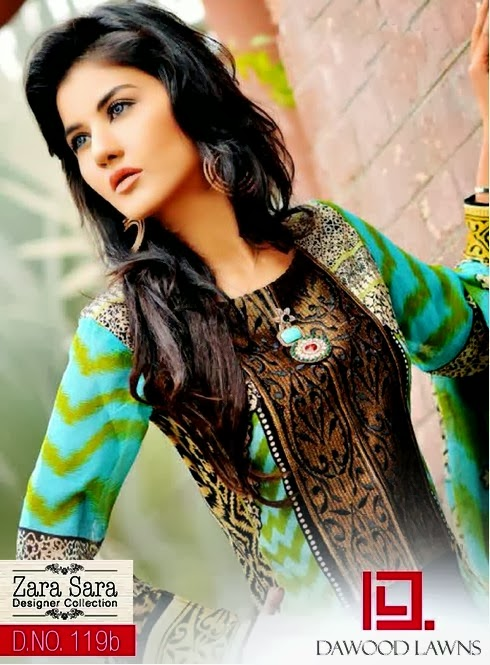Dawood Designer Lawn Dress