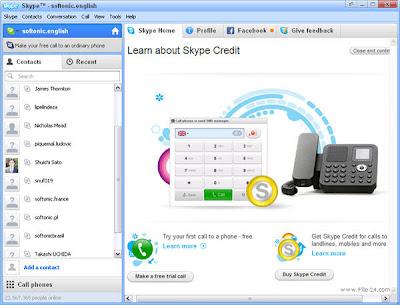 برنامج سكايب Skype للمحادثة مجانا عبر الانترنت