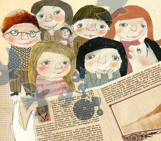 10 il·lustracions + llibre / 10 ilustraciones + libro