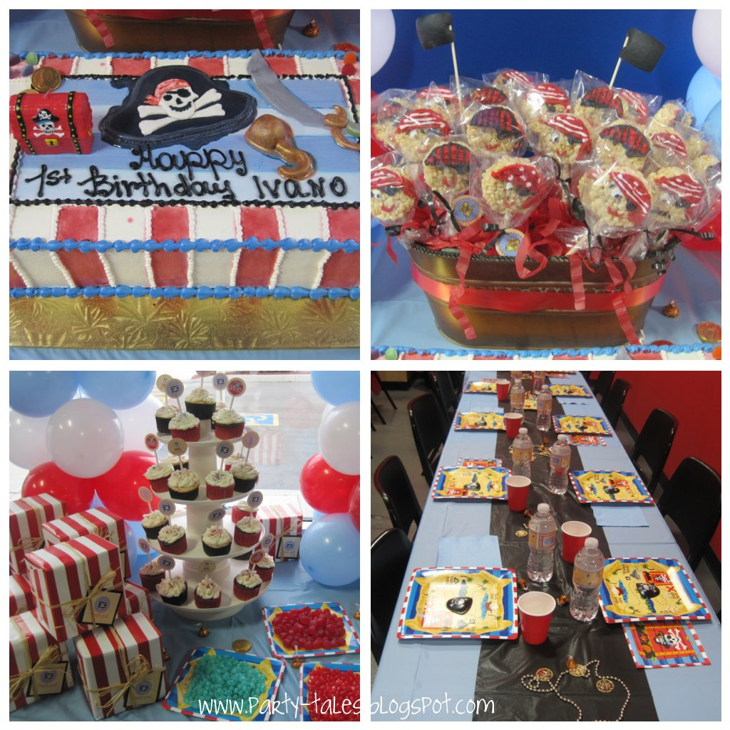 Birthday Party ~ Pirates!! 1st birthday party and Pirate pops ...