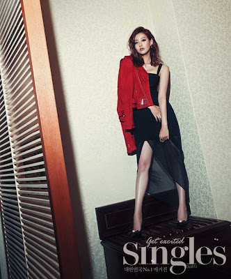 Oh Yeon Seo - Singles Magazine July Issue 2013