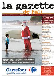 La Gazette de Bali décembre 2012