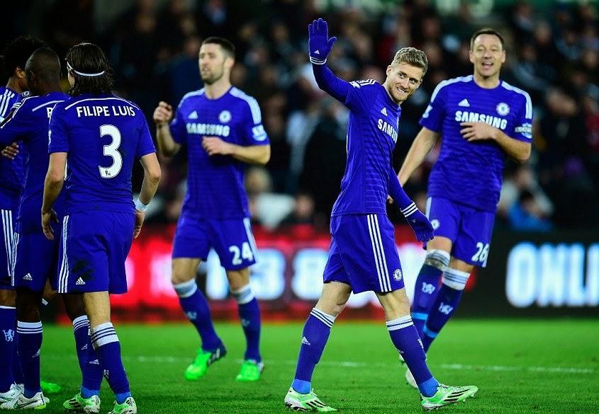 Chelsea pesta gol ke gawang swansea