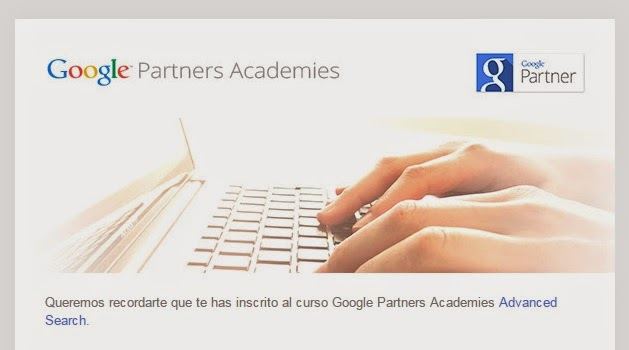 Jaime Jalón en Google AdWords Advanced Search Academies Partners