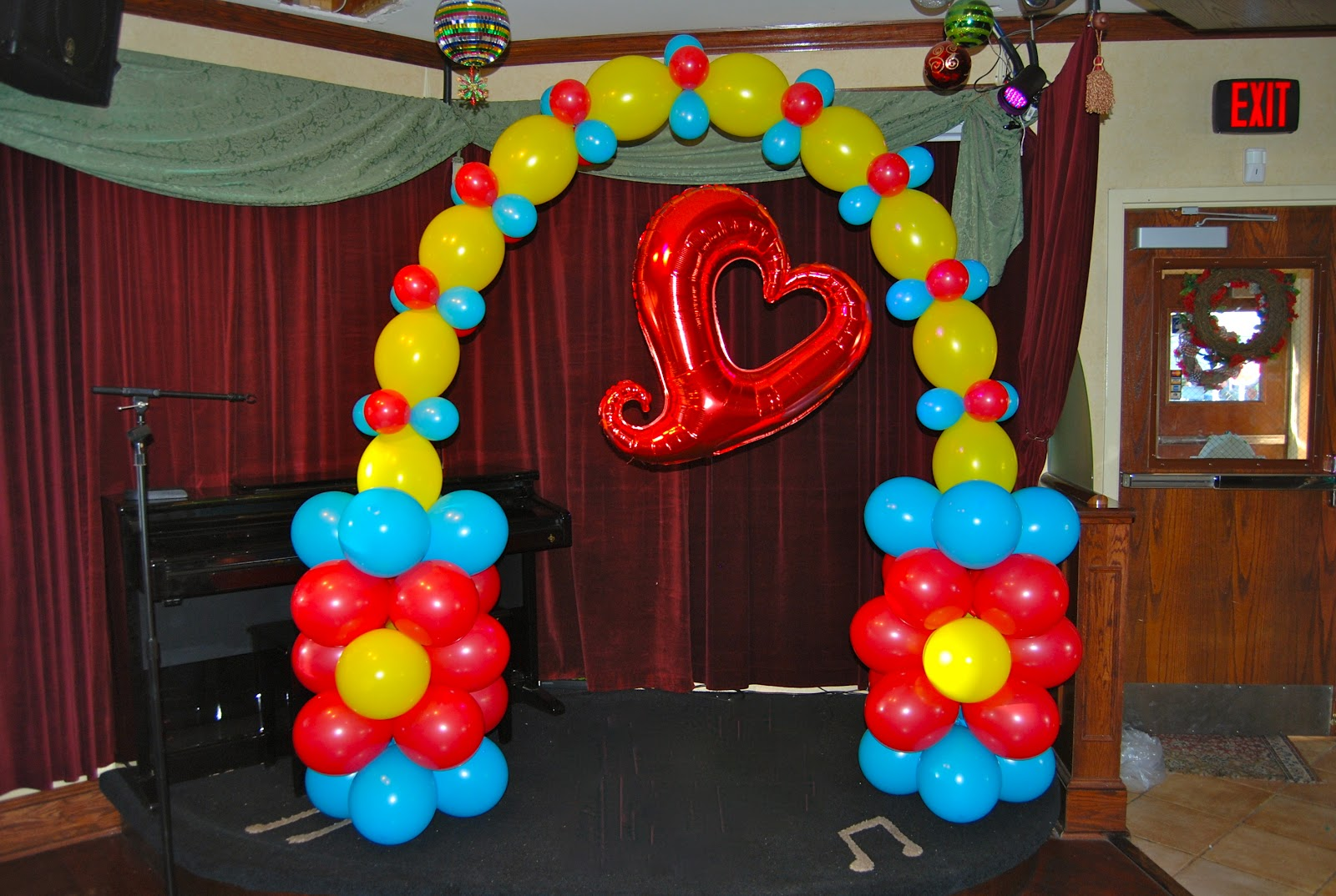 1000 images about link o loon on pinterest balloon arch for Arch decoration supplies