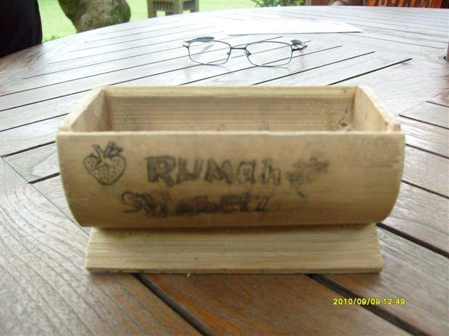 ... Belajar Interaktif Informasi Belajar Interaktif: Kerajinan Dari Bambu