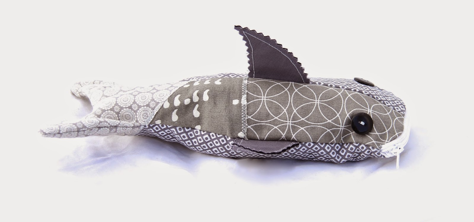 shark pencil bag sewing kids