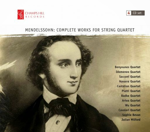 Mendelssohn - complete string quartets - Champs Hill Records