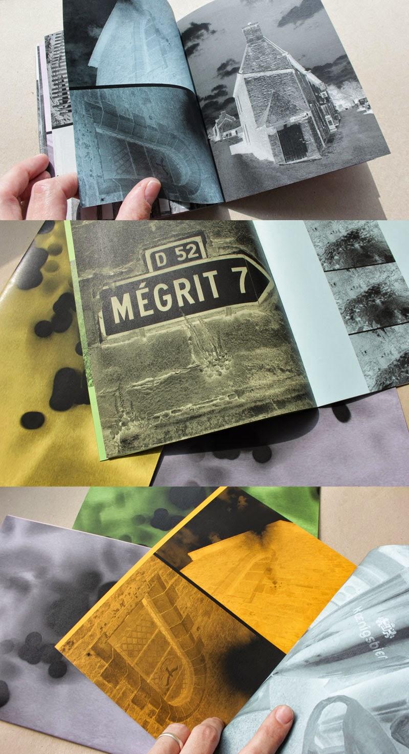 auto-edité impression numerique sur papiers colorés