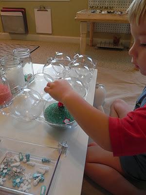 como hacer un centro de mesa original