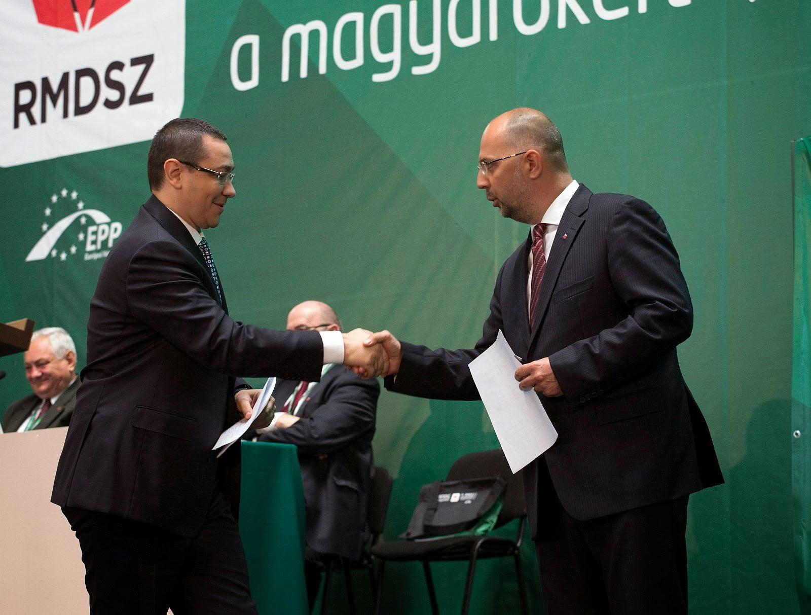 Kelemen Hunor, kisebbségek, Klaus Johannis, magyarság, RMDSZ, Románia, Victor Ponta, államelnök-választások,