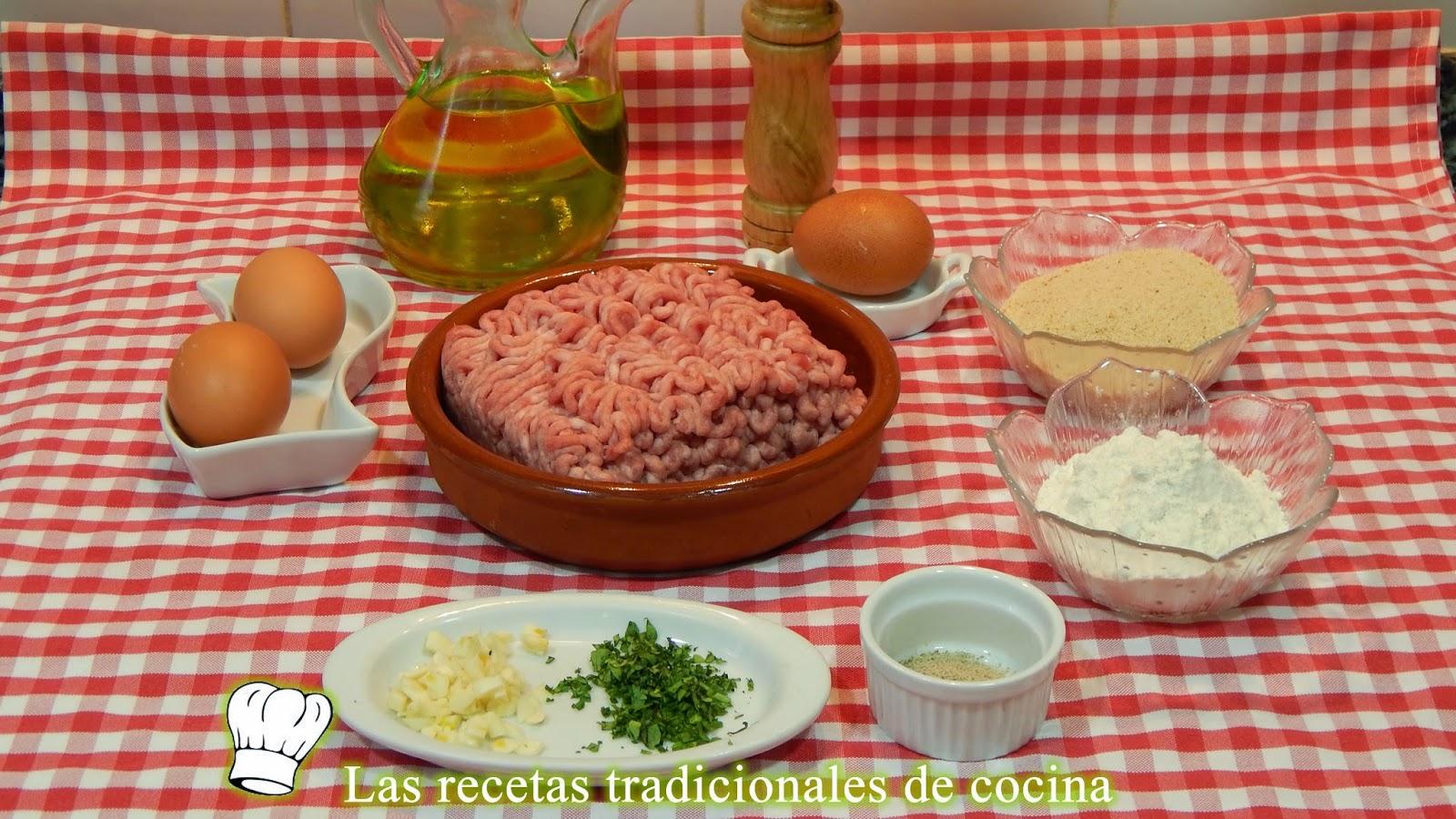 Receta fácil de filetes Rusos